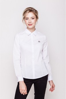 Белая классическая женская блузка Marimay