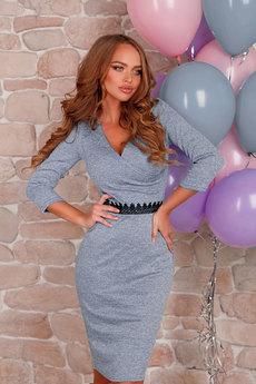 Платье с глубоким v-образным вырезом Open-Style