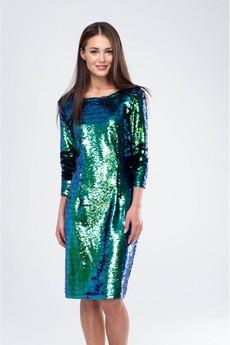 Платье с пайетками хамелеон Marimay