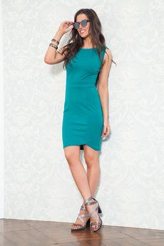 Платье изумрудного цвета Angela Ricci