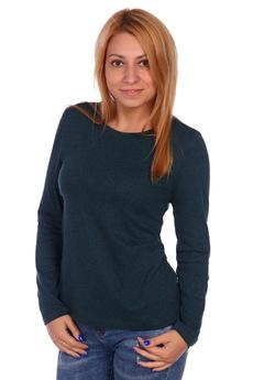 Блузка изумрудного цвета ElenaTex